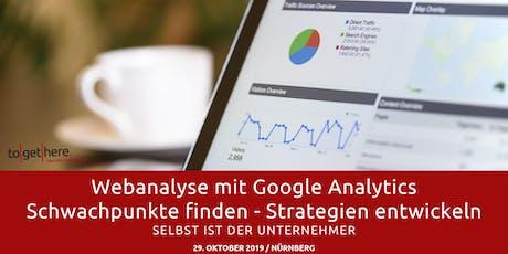 Google Analytics Einsteigerseminar - Selbst ist der Unternehmer  Tickets