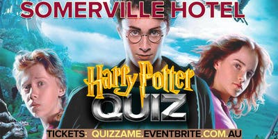 Somerville Hotel Harry Potter Trivia