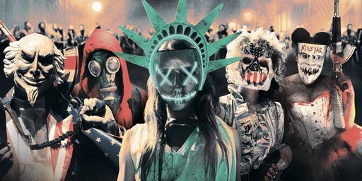 The PURGE Halloween Party @ The RESERVE DTLA / Everyone FREE until 11pm
