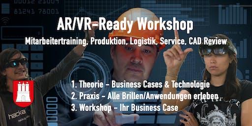 AR/VR - Ready Workshop für die Industrie. Edition Hamburg. 23.Okt