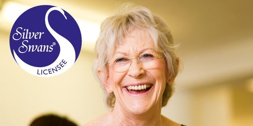 BOOK YOUR FREE BALLET CLASS TRIAL - SILVER SWANS 55+