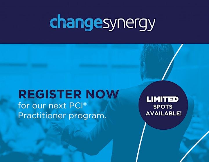 PCI Practitioner Course Overview (PLUS RoadMap & ChangeViz Previews) image