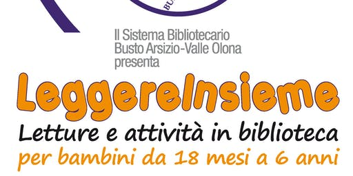 Storie zuccone e zuccose per bambini da 3 a 6 anni in Biblioteca a Busto Arsizio