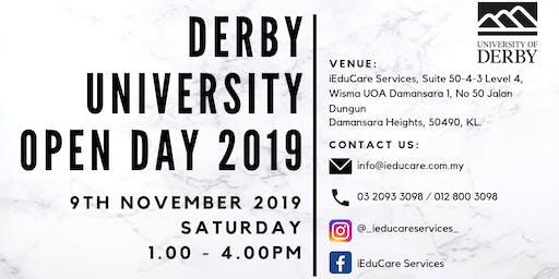 UNIVERSITY OF DERBY OPEN DAY 2019