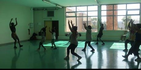 Cour de danse africaine billets