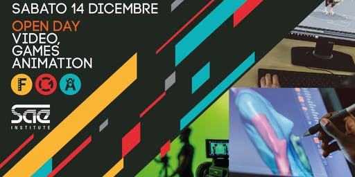 Open Day corsi Video, Games e Animation