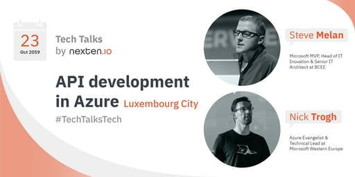 API Development in Azure - Tech Talks by Nexten