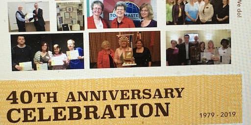 Carillon Toastmasters 40th Anniversary Celebration