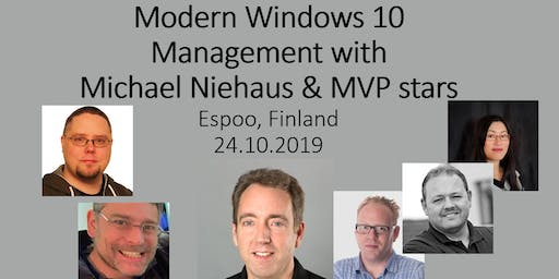 Modern Windows Management with Michael Niehaus & MVP stars