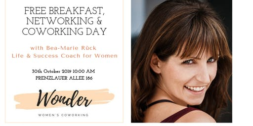 """Networking & Coworking Breakfast - """"Create a happy and meaningful career"""""""