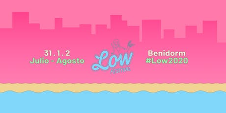 Low Festival Benidorm 2020 entradas