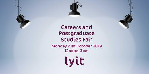 LYIT Career and Postgraduate Studies Fair 2019