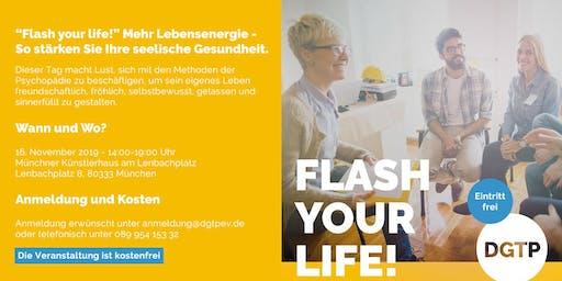 Flash your life! So stärken Sie Ihre seelische Gesundheit