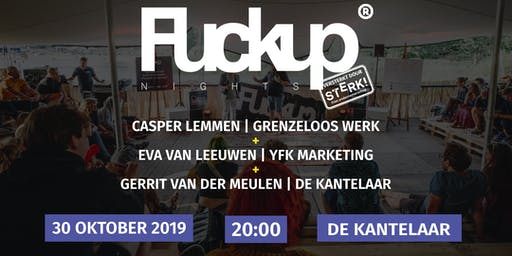 Fvckup Nights x Sterk Fries Ondernemerschap