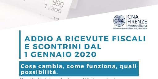 Obbigo invio telematico dei corrispettivi_Firenze