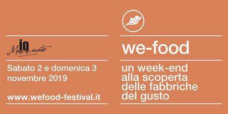 We-Food 2019 @ ioMazzuccato tickets