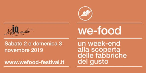 We-Food 2019 @ ioMazzuccato