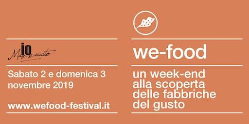 We-Food 2019 @ ioMazzuccato