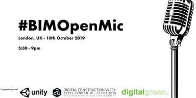 #BIMOpenMic No.36 - London DCW