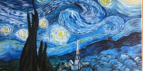Chill & Paint Night @ Auckland City Hotel  -  Van Gogh's Starry Night tickets