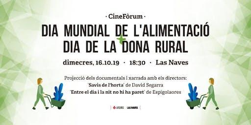 Cinefòrum Día Mundial de l'Alimentació i Dia de la Dona Rural