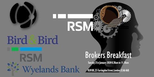 Brokers Breakfast - Smart Energy Projects