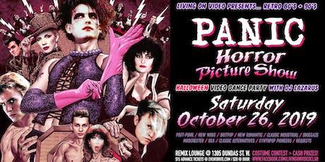 PANIC - 80's & 90's Halloween Video Dance Party tickets