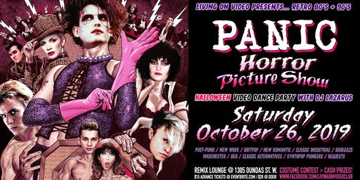 PANIC - 80's & 90's Halloween Video Dance Party