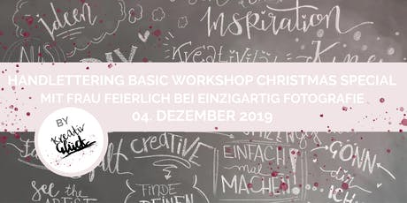 Handlettering Basic Workshop Christmas Special tickets