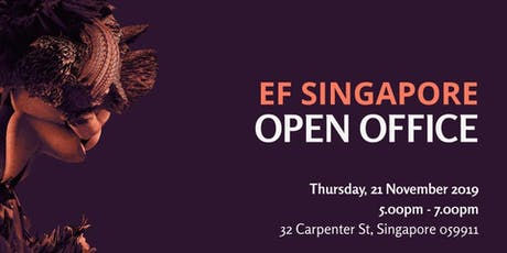 EF Singapore November 2019 Open Office tickets