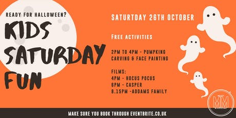 Halloween - Films for Kids and Families tickets