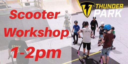 Stunt Scooter workshops 1-2pm  - Charity Taster event
