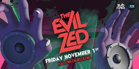 The EVIL ZED - 4ZZZfm Fundraising Halloween Party tickets