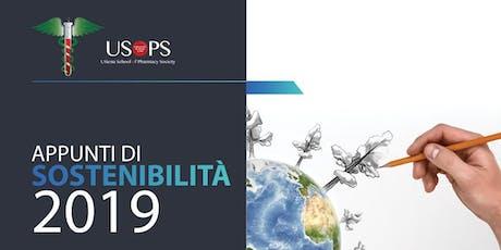 Appunti di sostenibilità 2019 biglietti