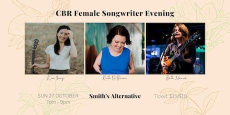 CBR Female Songwriter Evening tickets