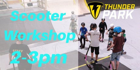 Stunt Scooter Workshop - Charity Taster event 2-3pm tickets
