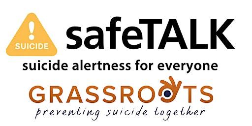 safeTALK: Suicide Alertness For Everyone