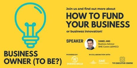 TEC SG | How To Fund Your Business tickets