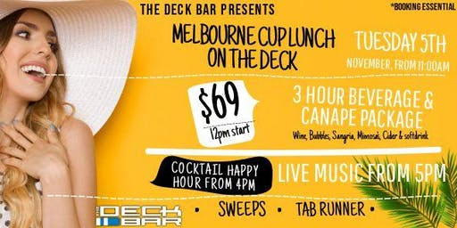 Melbourne Cup Drinks and Roaming Canapes Package