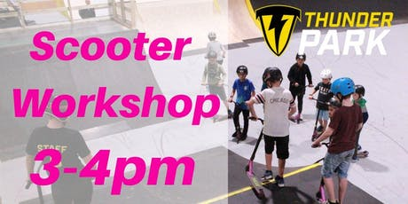 Stunt Scooter Workshop - Charity Taster event 3-4pm tickets