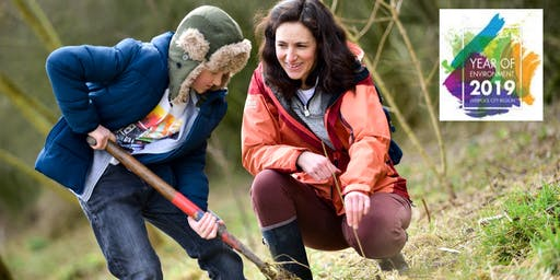The Mersey Forest #BigClimateFightback Tree Planting Event