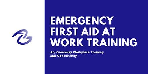 QA Level 3 Emergency First Aid at Work (1 day)