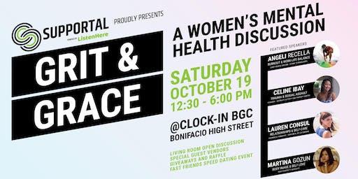 Grit & Grace: A Women's Mental Health Event