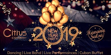 Havana Salsa New Years Eve Special 19/20 Dance Event tickets