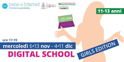 Digital School: corso di avvicinamento al coding per ragazze 11-13 anni