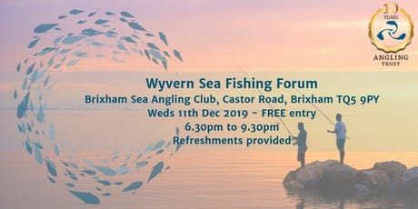 Angling Trust Wyvern Sea Fishing Forum tickets