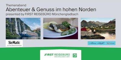 """Themenabend """"Abenteuer & Genuss im hohen Norden"""""""