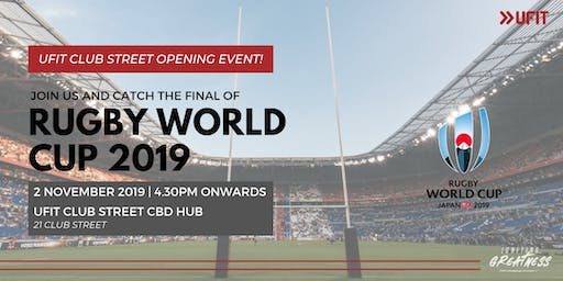 Rugby World Cup Final Screening with UFIT