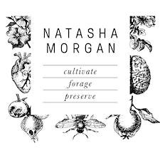Natasha Morgan of Oak & Monkey Puzzle, Spargo Creek, Victoria logo