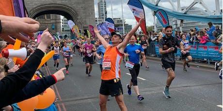 London Marathon 2020 - Own place registration form tickets
